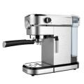 Stainless steel coffee maker with pressure meter