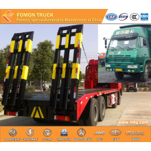 SHACMAN AOLONG 8X4 30tons harvester transport truck