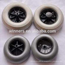 Roda de carro plástica pequena do brinquedo da roda de eva de 127mm 150mm