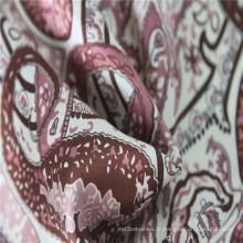 Tissu de teinture 100% soie uni