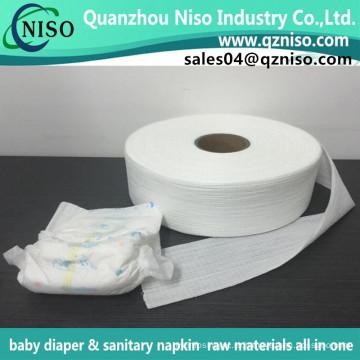 Синий / белый эластичный носочек для младенца/взрослый пеленки сырья