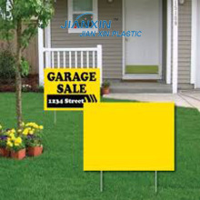 Coroplast Lawn Sign