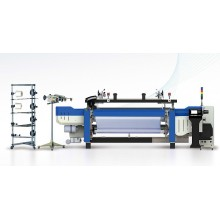 Hochwertige High-Speed Jacquard Rapier-Webstuhl-Maschine