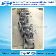 Oil field gate valve fitting