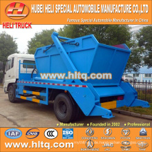 DONGFENG 4x2 190hp 10cbm abrollen Müllwagen Müllwagen Container Hakenlift Müll LKW neues Modell gute Qualität