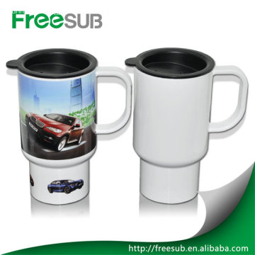 Wholesale ceramic sublimation travel mugs printing