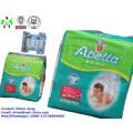 Best Selling S M L Tamanho Fralda bebê na África e fábrica de fraldas do bebê China