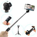 Selfie stick trépied pliable pour bouton Bluetooth
