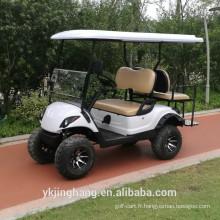 chariot de golf 4x4 électrique avec 4 sièges