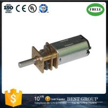 Caixa de engrenagens da redução da precisão do motor da engrenagem da CC, um motor sem escova da CC, motor elétrico pequeno da CC, mini motor da engrenagem, motor da escova da CC