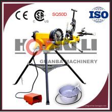 Hongli SQ50D elétrica de boa qualidade fabricante máquina de corte de rosca