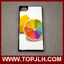 Vente chaude téléphone blanc Etui Sublimation Sony Z5 Xperia Compact