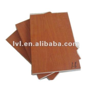 1220 * 2440 * 15mm tablero de partículas laminado para el uso de los muebles