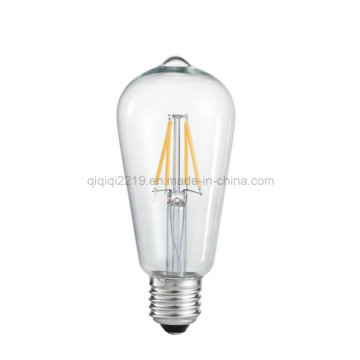 3W St58 220V Clear Dimmable LED Filament Bulb