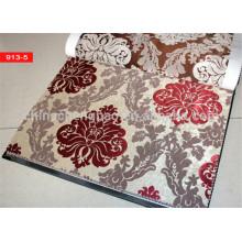Tela europea hecha a medida de la cortina del telar jacquar del estilo en China