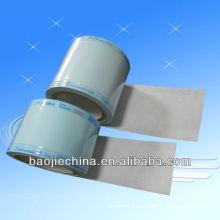 Bolsa de carrete Sterilizaiton Heat de película seca de color verde