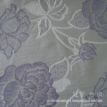 Tela teñida hilado del telar jacquar 100% poliéster para el sofá