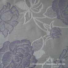 Tissu teint par fil de polyester de Jacquard Chenille 100% pour le sofa