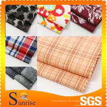 CVC Garn gefärbt Baumwolle Stoff für Kleidung