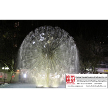 Ball Water Fountain Sculpture