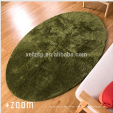 china textile factory bedroom product microfiber carpet oval rug