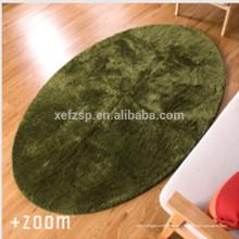 china têxtil fábrica quarto produto microfibra tapete oval tapete