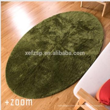 Chine textile usine chambre produit microfibre tapis ovale tapis