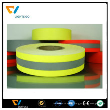 high light sew on reflective tape for life jacket clothing