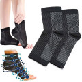 Anti Fatigue Socks Breathable Net Foot Sleeve Protective Gear Basketball Walking Athletic Pain Relief Ankle Braces