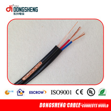 Coaxial Cable Rg59 with Power Cable Rg59+2c