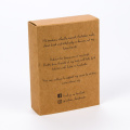 Kotak Kraft Brown Kraft Paper Handmade Soap Packaging