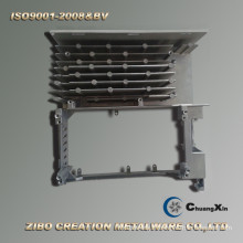Application de servomoteur, pièces de rechange en aluminium moulé