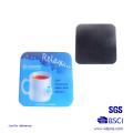 Cuillères en métal de souvenir adaptées aux besoins du client avec l'autocollant époxyde d'impression (XD-03113)
