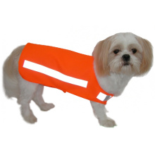 High vis reflective safety vest for dogs