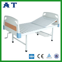 Hospital furniture ABS double-folding nursing bed