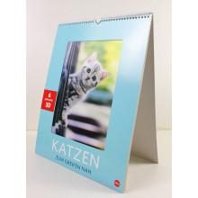 Custom Printing Fashion 2015 3D Calendar