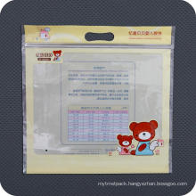 Reusable Plastic Promotional Packaging Zipper Bag