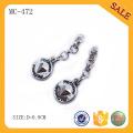 MC472 Förderung Zinklegierung kundenspezifische Geschenke Metallschlüsselkette mit Firmenzeichen