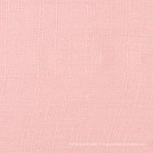 Tissu en lin en bambou brillant en coton et en lin