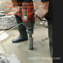 vacuum brazed diamond core bits for construction materials coring miya@moresuperhard.com