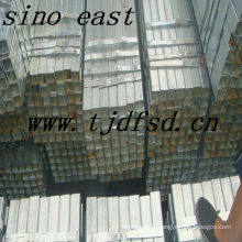 Rectangular Galvanized Steel Pipe/Tube