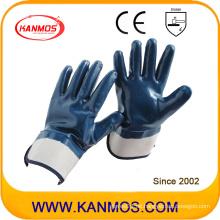 Anti-Cutting Nitril Jersey Arbeitsschutzhandschuh mit Sicherheitsmanschette (53004)