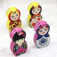 Custom Russian Nesting Dolls Manicure Sets