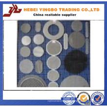 Filtro de aço inoxidável amplamente utilizado Elementos do disco Mesh