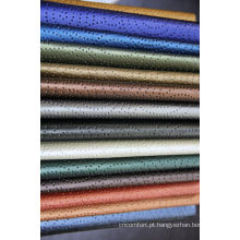 bom padrão mancha resistência couro molhado PU perfurado
