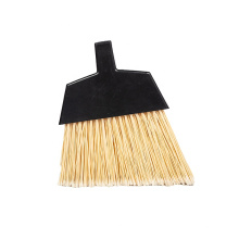 Customized angle broom head with long iron handle