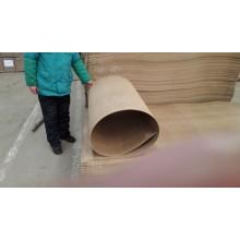 Hardboard marrom escuro 4 X 8 a superfície lisa e áspera voltar