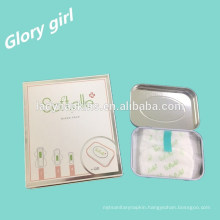 Wholesale Ultra Thin Negative ions Sanitary Napkins With beautiful Tins