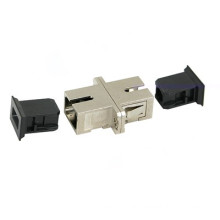 Sc-Sc Metal Type Single Fiber Optic Adapter