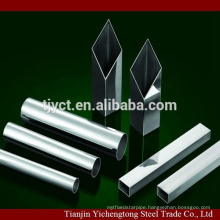 round welded 201 304 stainless steel pipes